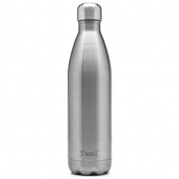 S'Well | S'Well Bottle 500ml Shimmer Collection Silver Lining | Shut the Front Door