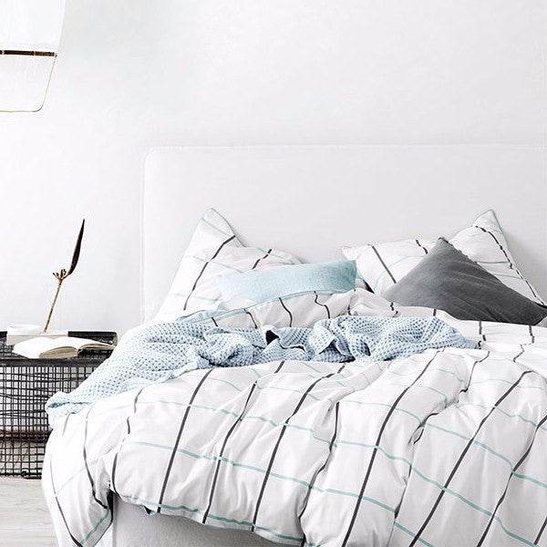 Aura | Duvet Cover Verve GLACIER | Shut the Front Door