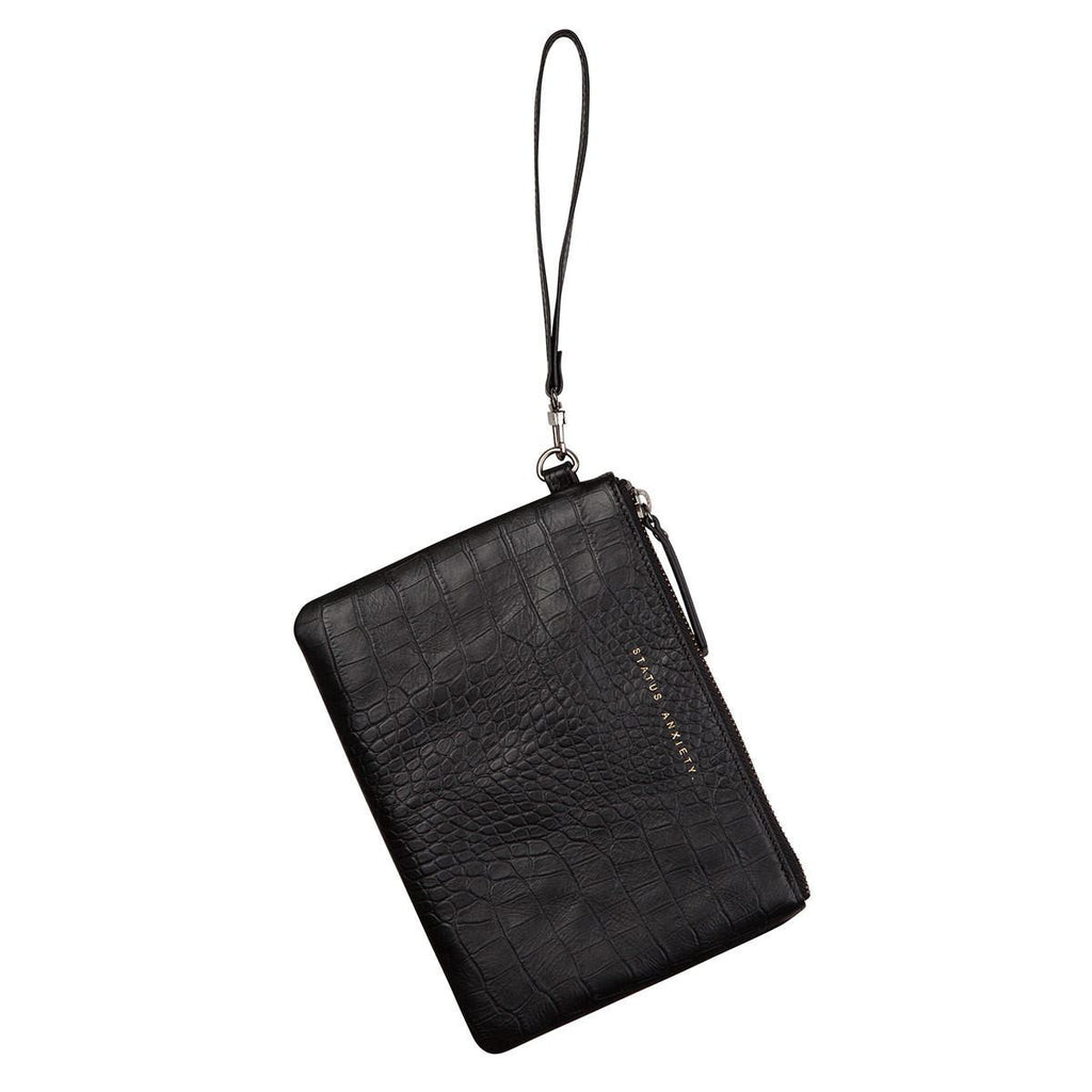 Status Anxiety | Fixation Clutch BLACK CROC | Shut the Front Door
