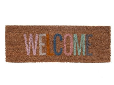 PT home | Door Mat WELCOME Multi | Shut the Front Door