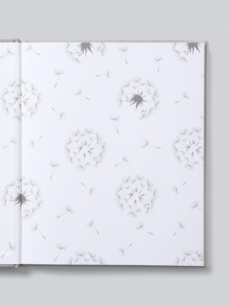 Write to Me Stationery | Well Wishes Guest Book - Grey | Shut the Front Door