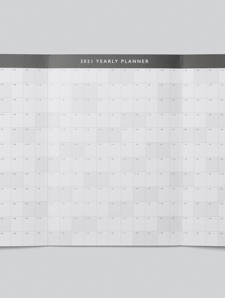 Write to Me Stationery | 2021 Yearly Wall Planner | Shut the Front Door