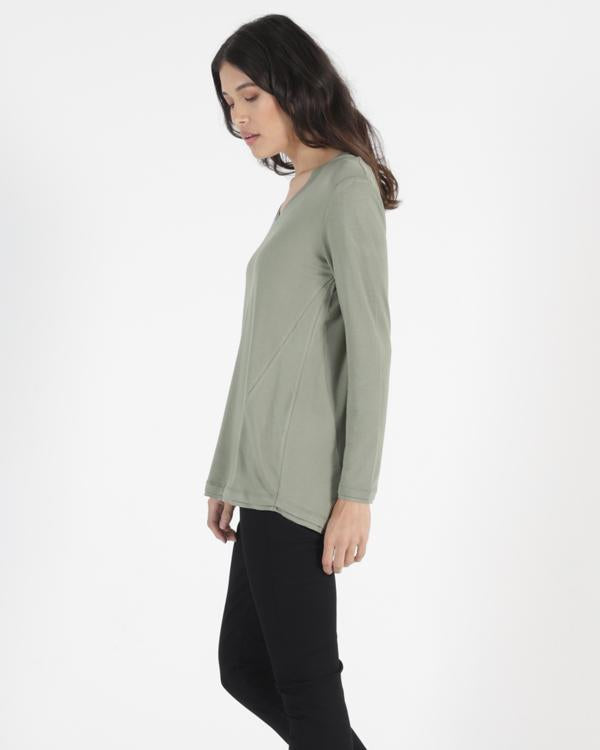 Betty Basics | York Top - Avocado | Shut the Front Door