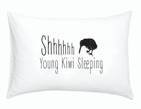 Moana Rd | Pillowcase Single Kiwi Sleeping | Shut the Front Door
