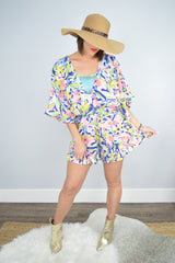 Smell the Roses Baseball Sweater - Tara Lynn's Boutique