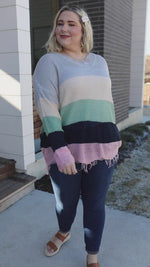 Deliah Distressed Sweater