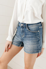 Ave Shops Bottoms Bring On Spring Denim Shorts