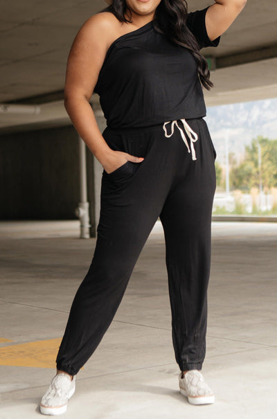 Ave Shops jumpsuit Arm And A Leg Jumpsuit In Black