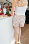 Ave Shops Set Emery Striped Shorts