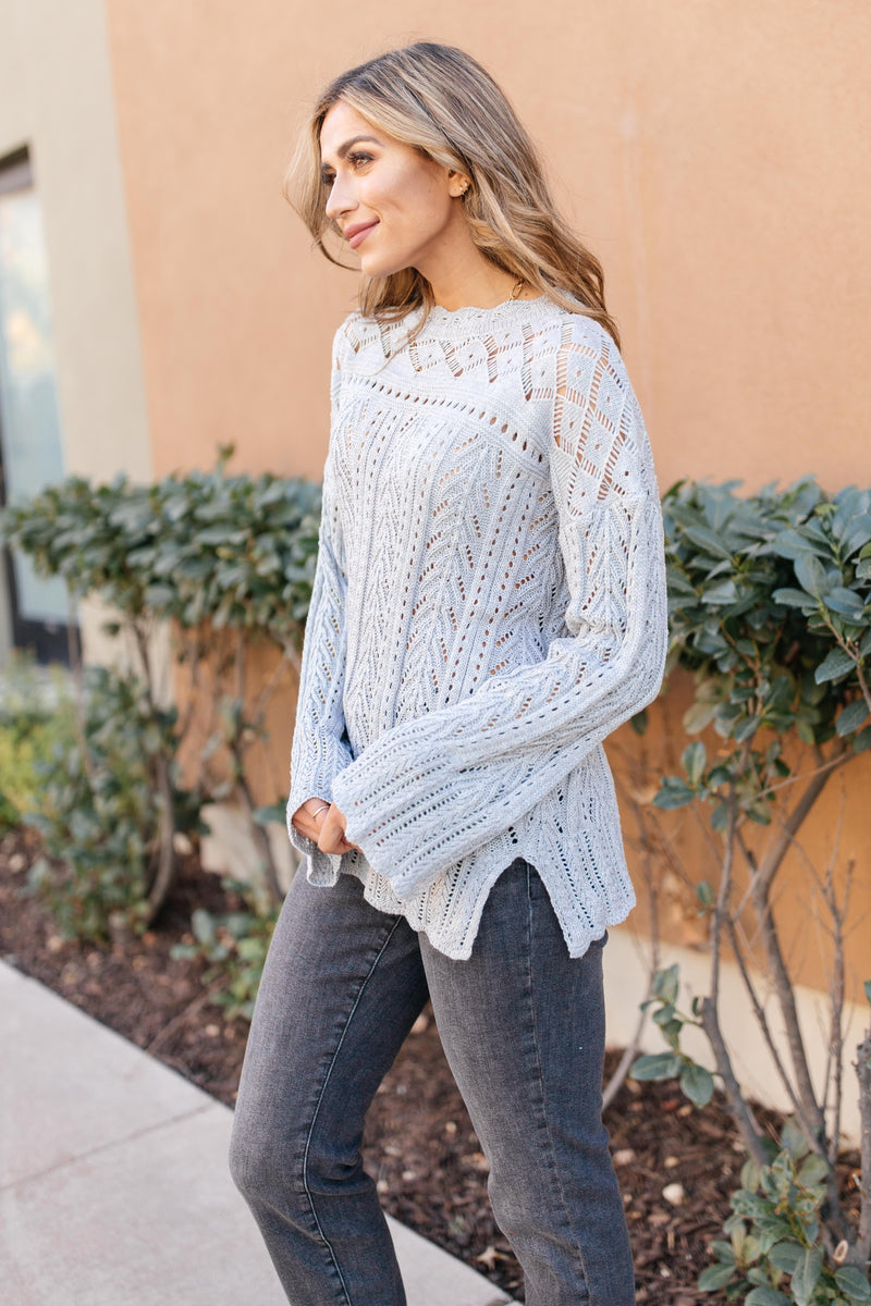 Ave Shops Tops A Bit Of Knit Sweater