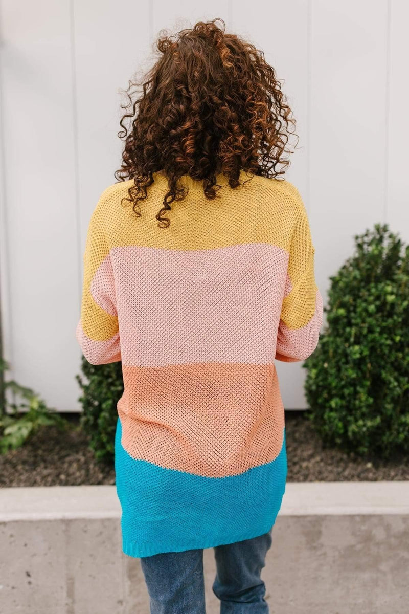 Ave Shops Tops A Block of Sunshine Sweater