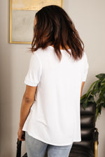 Ave Shops Tops Basically Basic Top White
