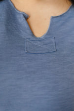 Ave Shops Tops Beautiful Blue Tee