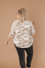 Ave Shops Tops Not So Active Duty Camo Top