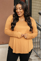 Ave Shops Tops XL The Wendi Top in Harvest Orange
