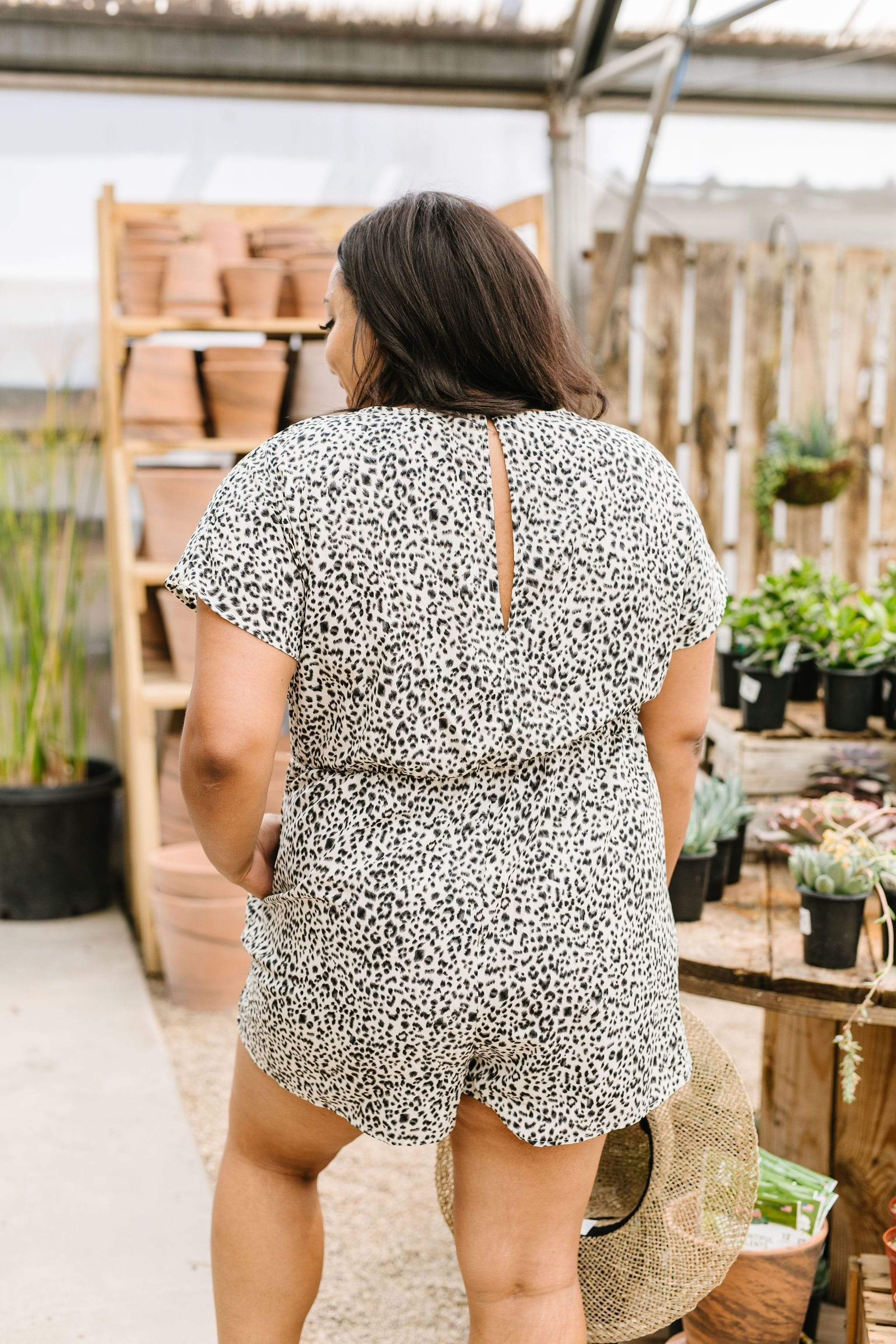 PRE-LOVED The Spot To Be Romper