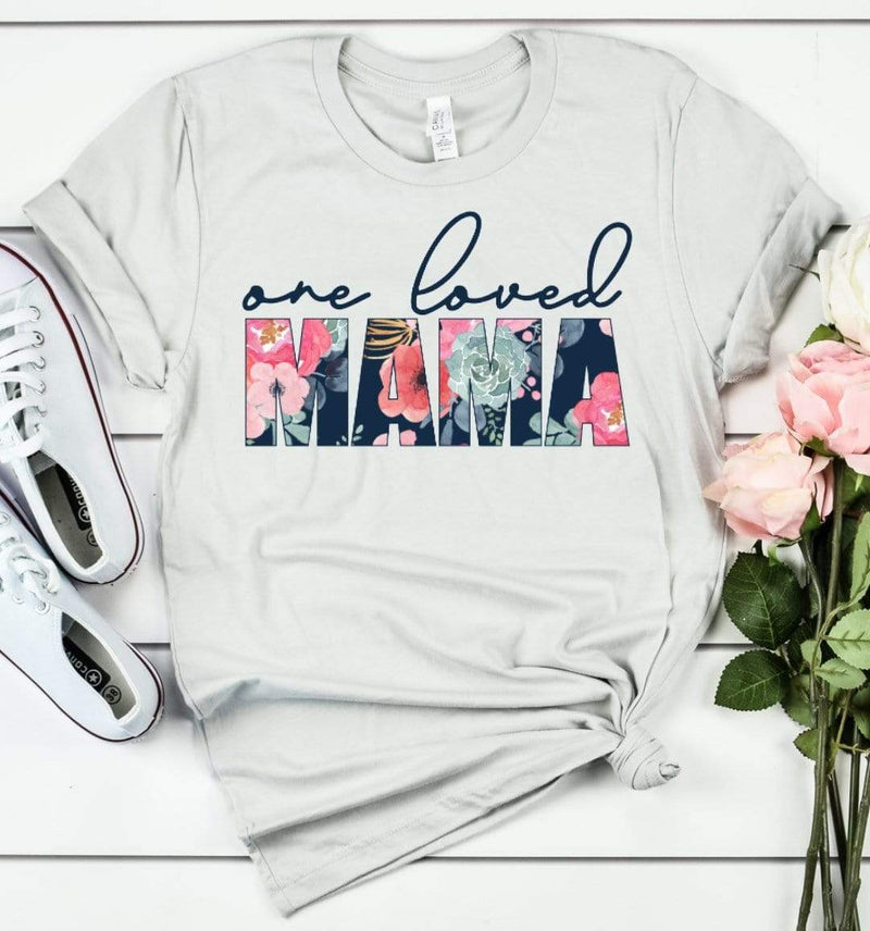 Exclusive Thredz Tops One Loved Mama Graphic Tee