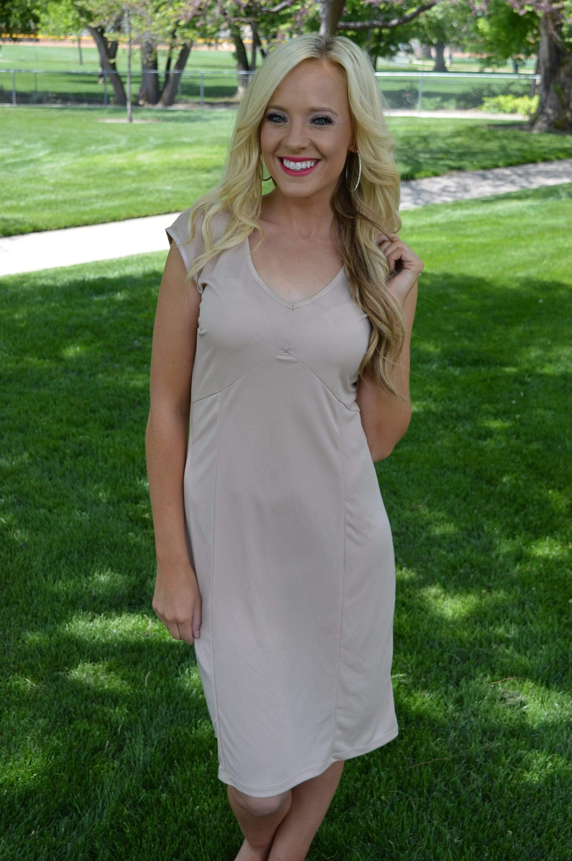 Perfect Slip: V neck - FINAL SALE - Tara Lynn's Boutique
