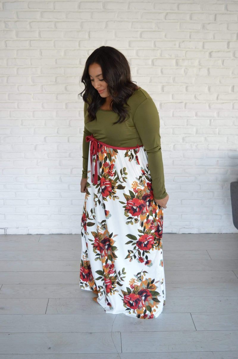 Shelton Floral Maxi Dress - Tara Lynn's Boutique