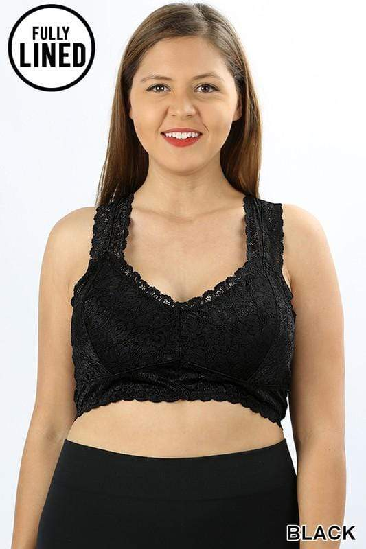 Stretch Lace Bralette - Tara Lynn's Boutique