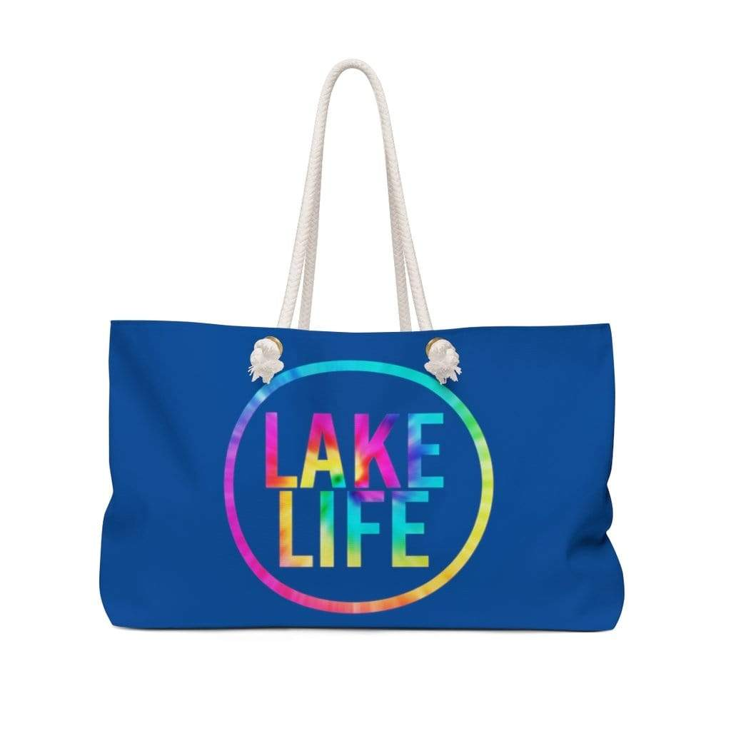 "Printify Bags 24"" × 13"" Lake Life Weekender Bag"