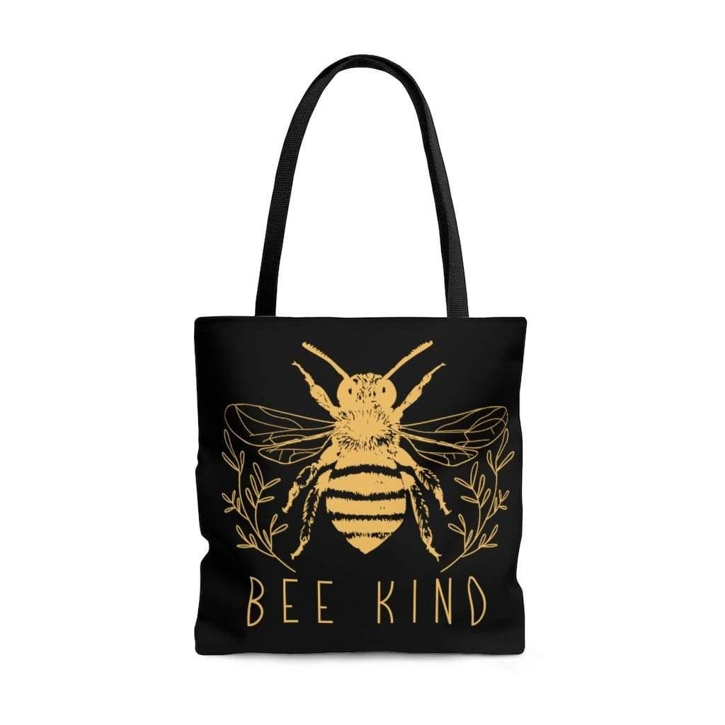 Printify Bags Large Bee Kind Tote Bag