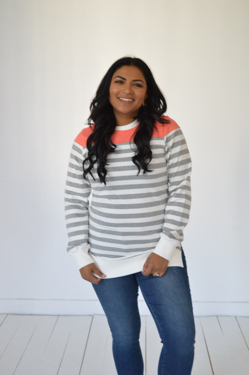 Recurate L PRE-LOVED Poppin with Color Sweater