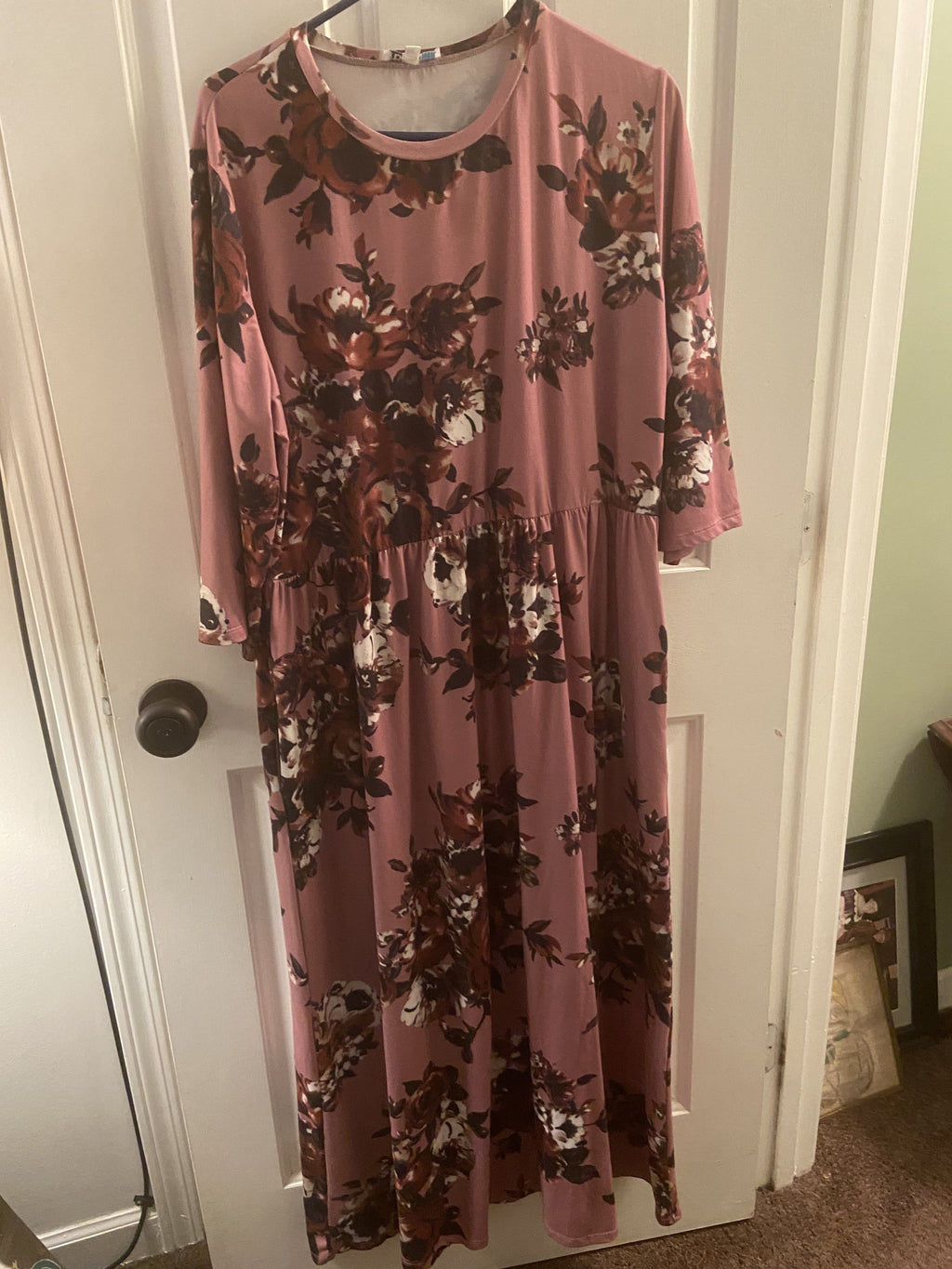 Recurate Maybe 3XL Petite PRE-LOVED Sienna Floral Maxi