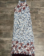 Sara Medium PRE-LOVED Halter Floral Dress