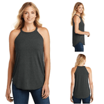 Tara Lynn's Tanks S / Black Frost Perfect Tri Rocker Tank Top