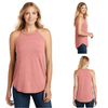 Tara Lynn's Tanks S / Blush Frost Perfect Tri Rocker Tank Top