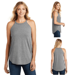 Tara Lynn's Tanks S / Grey Frost Perfect Tri Rocker Tank Top