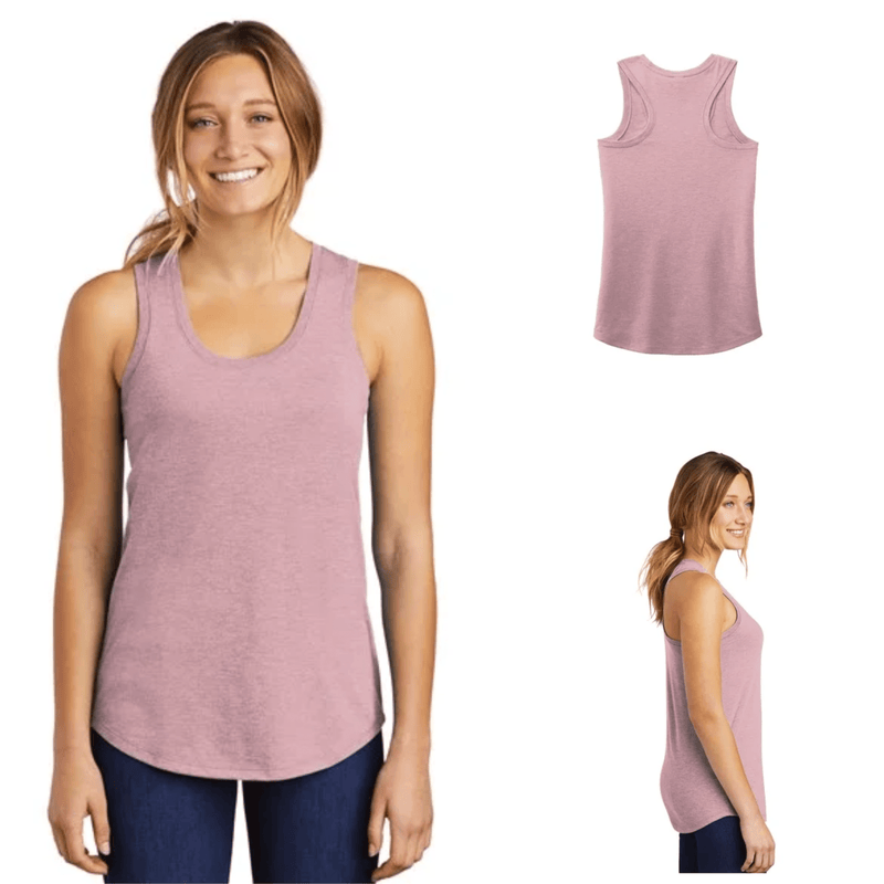 Tara Lynn's Tanks S / Heathered Lavendar Ladies Perfect Tri™ Racerback Tank Top
