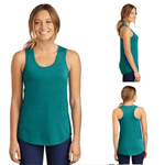 Tara Lynn's Tanks S / Heathered Teal Ladies Perfect Tri™ Racerback Tank Top