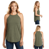 Tara Lynn's Tanks S / Military Green Frost Perfect Tri Rocker Tank Top