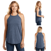 Tara Lynn's Tanks S / Navy Frost Perfect Tri Rocker Tank Top