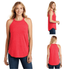 Tara Lynn's Tanks S / Red Frost Perfect Tri Rocker Tank Top