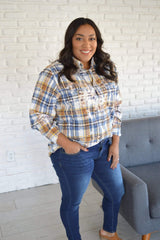 Distressed Flannels - FINAL SALE - Tara Lynn's Boutique