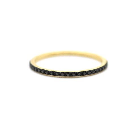 Black/Black Eternity Ring