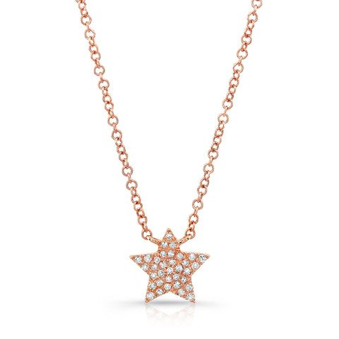 PAVE STAR NECKLACE