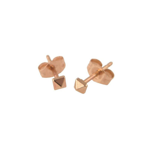 Baby Pyramid Stud Earrings