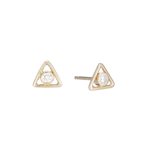 Diamond Tryst Studs