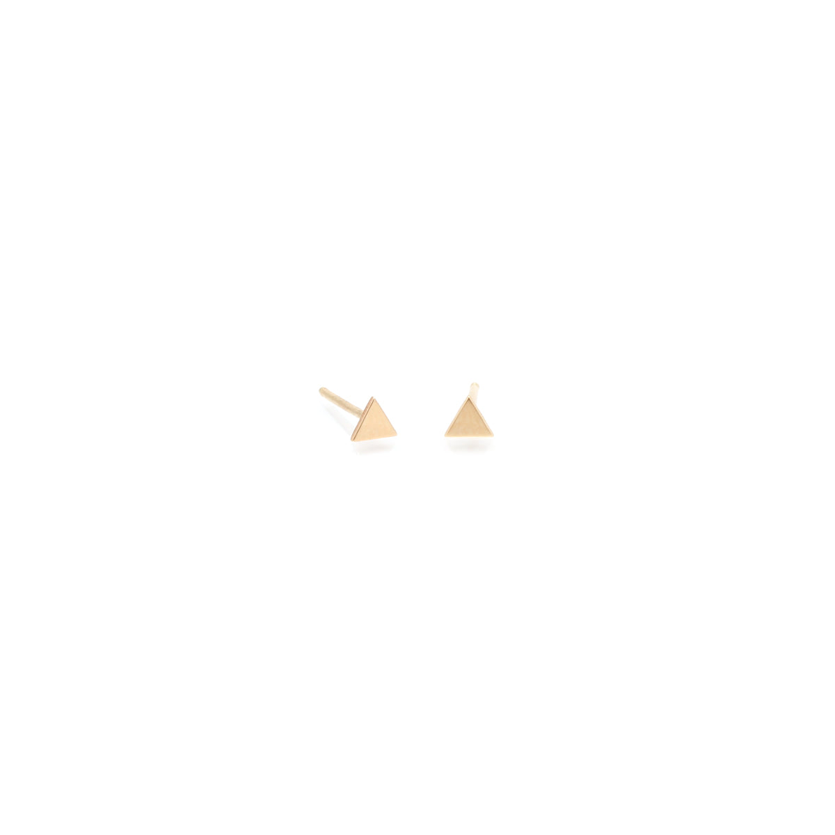 Itty Bitty Triangle Stud
