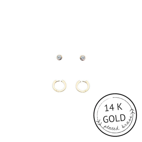 The Simple Things Earring Set