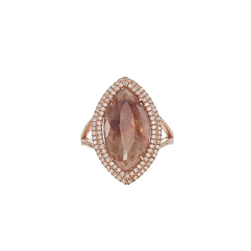 Marquis Brown Diamond Ring