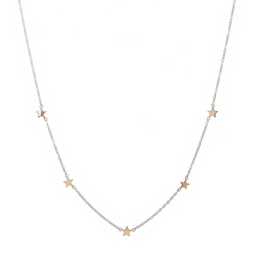 Simple Stars Necklace