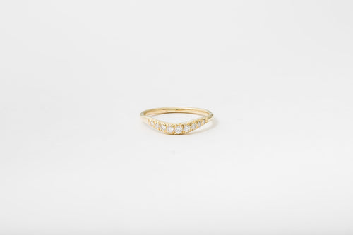 Pave Curve I Ring