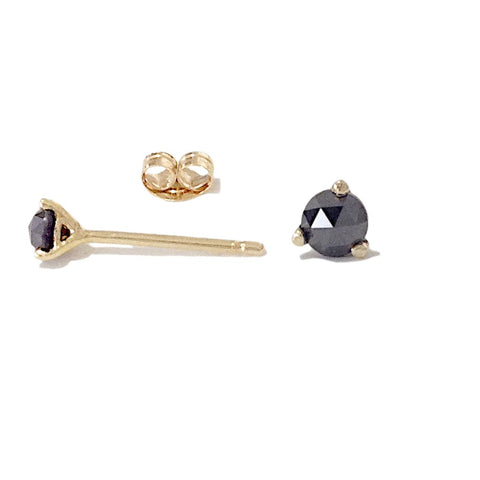 Black Diamond Martini Stud