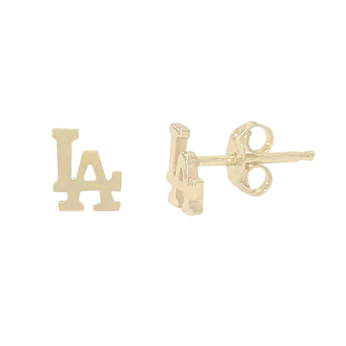 Single LA Logo Stud