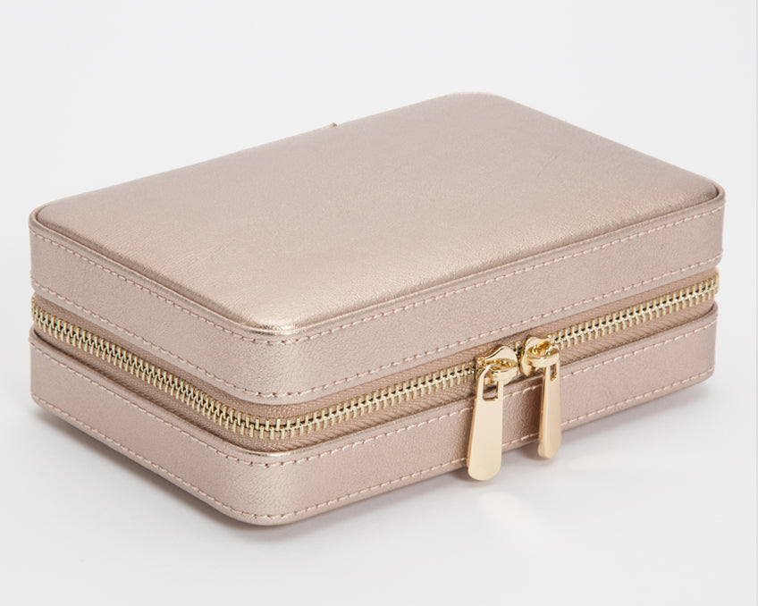 Rose Gold Zip Case